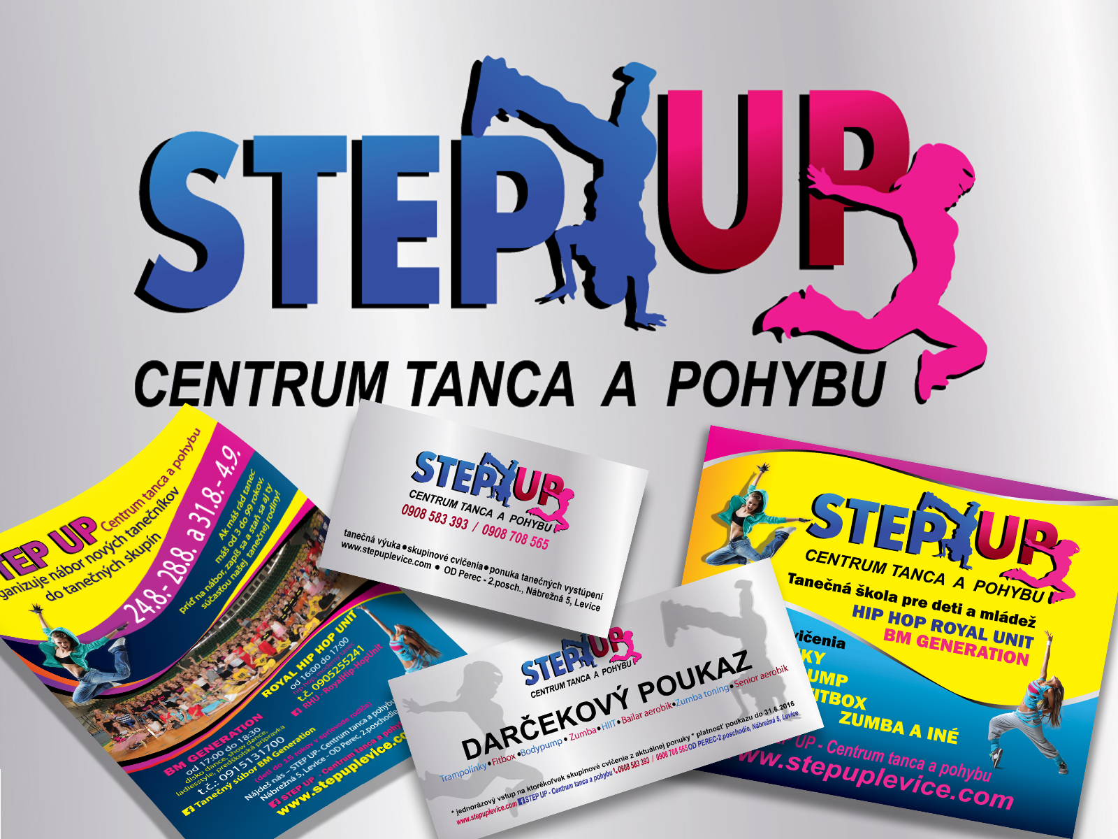 STEP UP centrum tanca a pohybu